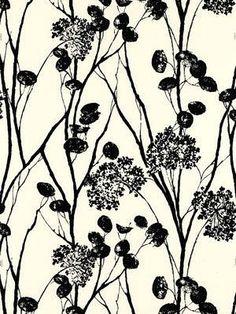 Schumacher Wallpaper - Moonpennies - Black Ivory - Price Per Roll: $113.25  #DBFallDecor