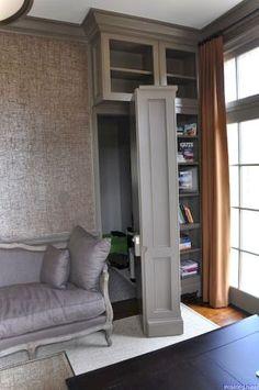 52 Trendy ideas for hidden door bookcase secret passage safe room Room Door Design, House Design, Bookshelf Door, Bookshelf Ideas, Diy Bookcases, Book Shelves, Panic Rooms, Hidden Spaces, Hidden Rooms In Houses