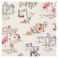 Cotton Fabric | Safari Cotton Duck | CathKidston
