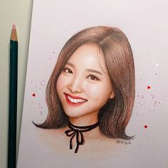 Color Pencil Sketch, Bts Drawings, Colored Pencils, Fan Art, Photo And Video, Lisa, Idol, Instagram, Illustrations