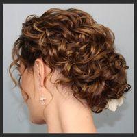 Hair Comes the Bride romantic up-do! http://haircomesthebride.com/