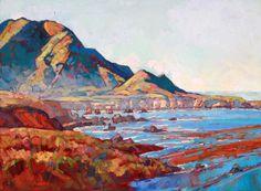 California Coast Big Sur Impressionist Landscape by redrockfineart, $3800.00