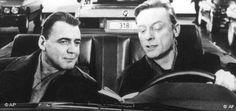 Damiel (Bruno Ganz) e Cassiel (Otto Sander): Anjos sobre Berlim