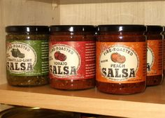 Salsa packaging research for semester long project in package design. Keep design DIFFERENT than what is out there!