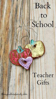 Back to School Teacher Gifts Apple Cinnamon