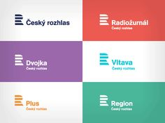 Český rozhlas - Czech Radio - the national radio broadcaster of Czech republic introduced a brand new corporate identity, designed by Studio Marvil. It's very simple and easy, following the contemporary branding of national radio broadcasters in Europe. Inspiration with BBC, Danmarks Radio, Sveriges Radio and mostly with Slovak Radio (old branding) is very obvious.
