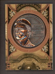 2015 Topps Etched In History Rickey Henderson A's HOF Commemorative Medallion Rickey Henderson, Trading Cards, Baseball Cards, History, Ebay, Historia, Collector Cards