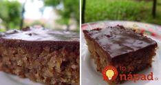 Rýchly krupicový koláčik Sweet Recipes, Pudding, Food, Custard Pudding, Puddings, Meals, Yemek, Eten