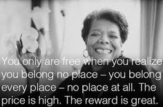 Words of Wisdom from the poetic voice of Maya Angelou ~ Kai