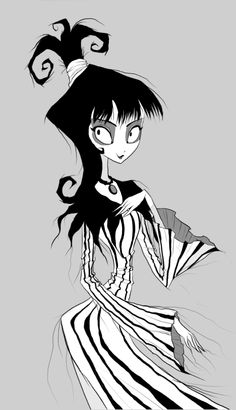 Beneath the Tangles. Lydia Deetz from Beetlejuice