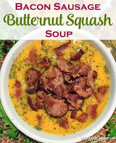 A creamy, savory Fall soup recipe that's Gluten Free, Dairy Free, and Paleo Friendly.
