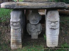 San Agustin Colombia Archaeological Site Pre-Colombian Statues in South America Christopher Columbus Voyages, Spanish Speaking Countries, Travel 2017, World View, Archaeological Site, Ancient Aliens, Ancient Civilizations, Countries Of The World, Rock Art
