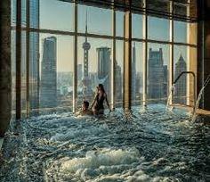Risultati immagini per infinity pool at shanghai four season