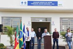 INFORMATIVO GERAL: Inauguração da Unidade Básica de Saúde Vereador Jo...