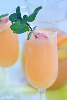 Happy Hour: Citrus-Champagne Sangria - Capitol Hill Style