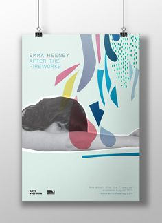 Poster for Emma Heeney - After the Fireworks by Cara Whitelaw at Studio Together