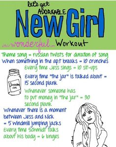 New Girl | 43 Workouts That Allow You To Watch An Ungodly Amount Of Television
