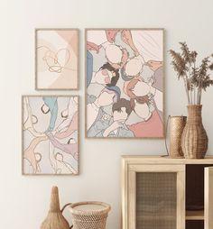 Army Crafts, Posters Diy, Army Room Decor, Bts Drawings, Diy Arts And Crafts, Poster Wall, Bts Wallpaper, Printable Wall Art, Bts Shirt