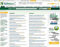 B2Brazil - B2B marketplace for Brazil trade, Brazil products and Brazil services. Contact companies, buy, sell, and browse trade leads.