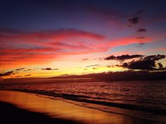 Visit Hawaii for the Sunsets and Sunrises