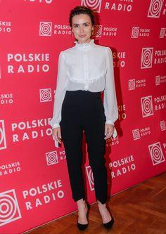Elegancka Żmuda Trzebiatowska w Polskim Radiu - PUDELEK
