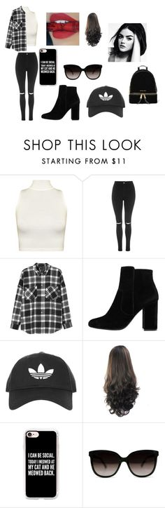"""""""Untitled #65"""" by taurus04 on Polyvore featuring WearAll, Topshop, Monki, MANGO, Casetify and MICHAEL Michael Kors"""