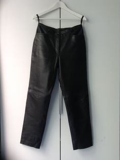 Thrifted leather pants Thrifting, Upcycle, Leather Pants, Clothes, Fashion, Outfit, Clothing, Moda, Upcycling