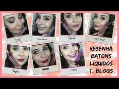 RESENHA BATONS LÍQUIDOS T. BLOGS | Pausa Para Feminices e Banquela Sardenta - YouTube