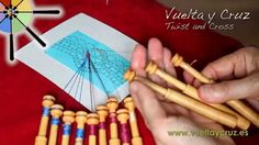 Lección 2 de Vuelta y Cruz / Lesson 2 by Twist and Cross - Leaf-shaped tally… Diy And Crafts, Arts And Crafts, Bobbin Lace Patterns, Lacemaking, Lace Heart, Lace Jewelry, Needle Lace, Lace Embroidery, Crochet