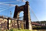 Image detail for -The Wheeling Suspension Bridge is a suspension bridge spanning the East channel of the Ohio River at Wheeling, West Virginia. It was the largest suspension bridge in ...