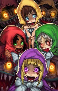 The Diabolical Cubus sisters by elsevilla.deviantart.com on @DeviantArt