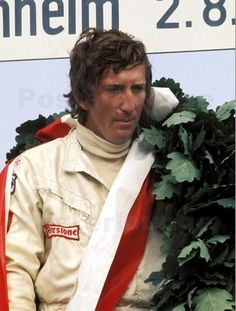 Jochen Rindt (Aut). World Champion 1970. GP starts 60. Poles 10. Wins 6. Podiums 13. 24hrs Le Mans winner 1965. The only driver to posthumously win the world championship after being killed in practise for Italian GP.