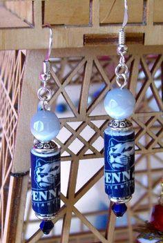 Penn State Earrings by Candras on Etsy, $16.99