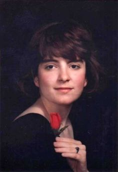 Tina Fey in her high school yearbook photo