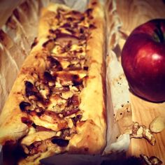 Dolce & salato - Tarte mele, brie e noci