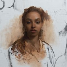 Portrait Inspiration, Painting Inspiration, Oil Portrait, Portrait Paintings, Portraits, Art Nouveau Illustration, Portrait Sketches, Figure Painting, Beautiful Paintings