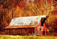Tennessee barn, Oh how I love this!