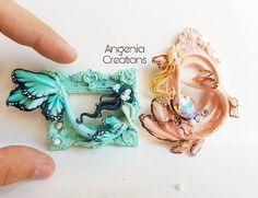 #pastellosita  Nuove sirenfarfalle disponibili il 13 e 14 Maggio alla Milano comics  Spero vi piacciano :* #mermaid #butterfly #creations #fimo #polymerclay #angenia #angeniacreations
