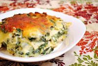 Spinach and Artichoke Dip Lasagna with Chicken | Square Pennies