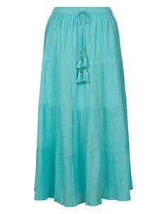 4e95b4dc8b Cora Boho Maxi Skirt Bohemian Maxi Skirt, Boho Skirts, Maxi Skirts, Long  Blue
