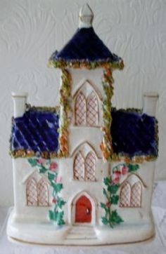 An Antique English Victorian Staffordshire Pottery Mansion ~ Stock Ref. AVSGM-29 ~ BUY IT NOW at www.applecrossantiques.com