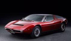 Giugiaro Maserati Bora 1971