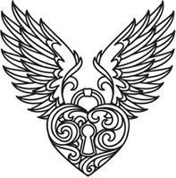 Baroque Punk (Design Pack) | Urban Threads: Unique and Awesome Embroidery Designs I'd use it for tattoo inspiration.