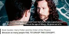 NO ONE SEEMS TO REALIZE THAT JAMES SAVED LILY AND HARRY!!! ALL ANY ONE REMEMBERS IS THAT HE WAS A? JERK TO SNAPE!!!!!!!