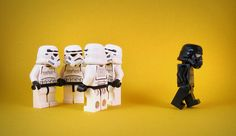 Ugly Duckling by designholic* | LEGO Star Wars Stormtrooper & Dark Stormtrooper Minifigs