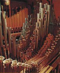 The Pipes, inside the Chambers of a Theatre Pipe Organ.Click here to visit the PSTOS home page.