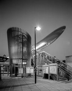 Consarcs idiosyncratic Langdon Park DLR Station is a gorgeous little piece of constructivist composition