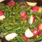 I leave out the bacon & potatoes (but not the butter!) to make these a bit healthier & lighter.  Seriously the best green beans ever.  One of my go-to sides!