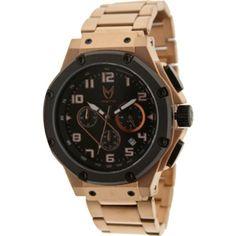 Meister Ambassador Stainless Steel Watch (rose gold) AM114SS - $399.99