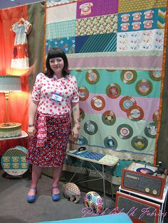 Quilt Market Spring 2012 - Melody Miller